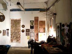 WALKTALK Textile design tour, visiting Moshe Roas and Shiri Cnani studio, South TLV