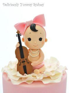 Cute Baby Cake Topper Creative & Cute. ❤