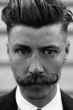 What an unbelievable sophisticated man! Must be the stache!