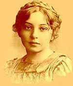 Sigrid Undset (da giovane) - Premio Nobel per la letteratura nel 1928