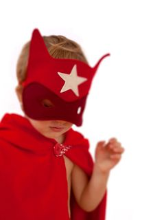 Superhero felt mask for kids