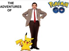 EPISODE 1 - MR. BEAN & POKEMON GO