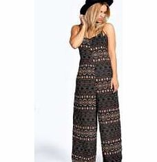 boohoo Penny Nordic Aztec Strappy Chiffon Jumpsuit - Find your folk side in this arty Aztec print jumpsuit - the only way to wear the wide leg this season. Layer it over a high neck top with a floaty fedora hat and ankle boots for an everyday outfit wit http://www.comparestoreprices.co.uk/womens-clothes/boohoo-penny-nordic-aztec-strappy-chiffon-jumpsuit-.asp