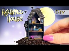 Miniature Haunted Dollhouse Tutorial