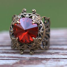 23dffb64bb6 Christmas magenta garnet rose ruby Ring  jewelry  ring  red  31 Everyday  Casual Outfits
