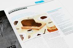 Chocolate Banana Bread on Behance