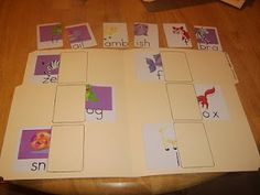 Little Family Fun: File Folder Games: Animal Matching 2