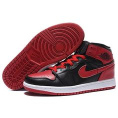 dcf5aa0a2c257d Micheal Jordan shoes are for sale now! Air Jordan 1 High In Black Red is