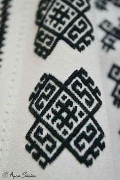 Folk Embroidery, Folk Costume, Needlework, Weaving, Traditional, Roots, Stitches, Snake, Pattern