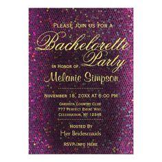 Best Of Bachelorette Party Logo Purple