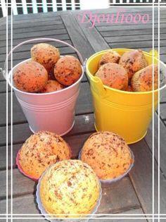 Muffins Pépites de Chocolat (sans matières grasses!!)