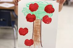 Kindergarten Step by Step Apples Week!