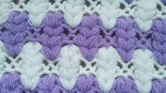Easy fiber – blanket – weft making – Stricken Crochet Flower Patterns, Crochet Stitches Patterns, Crochet Flowers, Stitch Patterns, Crochet Pony, Magic Party, Crocodile Stitch, Crochet Videos, Knitted Bags