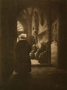Les Pauvresses Marissiaux, Gustave, b.1872-1929 Visons D'Artiste, 1906 13 x 17.3 cm Photogravure