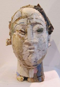 In A Clash Of Digital And Analogue Artist Hsu Tung Han Carves - Taiwanese sculpture uses wood to create sculptures of people effected by pixelated glitches