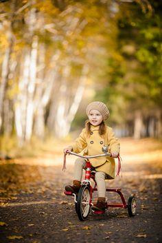 Radio Flayer. Girl. autumn. Baby girl.