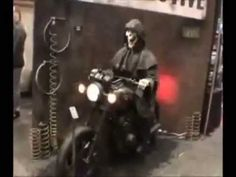 HELL RIDER - HALLOWEEN DECORATIONS AND PROPS FOR THE HOME HAUNTER, HAUNTED HOUSES AND THEME PARKS – Pneumatic Animated Halloween Haunted House Prop That Sure To Get The Attention Of Your Customers.