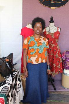 Fashion Goodies: Vendors at AfroPunk ~African fashion, Ankara, kitenge, African women dresses, African prints, Braids, Nigerian wedding, Ghanaian fashion, African wedding ~DKK