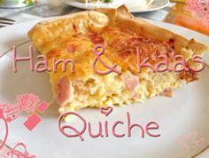 Een lekker en simpel recept voor ham-kaas quiche uit de oven. Dit gerecht is ideaal als je gasten over de vloer krijgt!