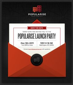 Beautiful Email Newsletters » Blog Archive » Popularise