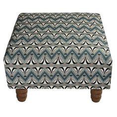 Deco Badger Footstool