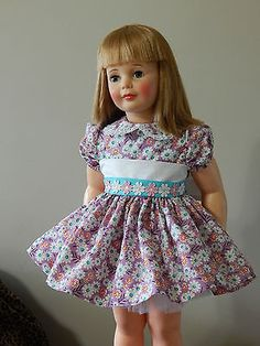 DAISIES AND LAVENDER  DRESS FOR PATTI PLAYPAL