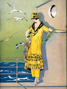 New Fashion Ilustration Vogue Style Art Deco Ideas Art Deco Illustration, Fashion Illustration Vintage, Fashion Illustrations, Fashion Sketches, Moda Vintage, Vintage Vogue, Vintage Fashion, Fashion 1920s, Trendy Fashion