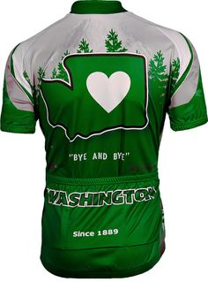 92fa54f3325a8d Its in My Heart Washington Women s Cycling Jersey