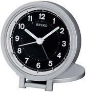 Seiko QHT011ALH Ultra Slim Lightweight Folding Travel Alarm Clock - Travel Alarm Clocks