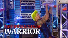 Jamie Rahn at the St. Louis Finals | American Ninja Warrior