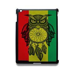 Owl Jamaican Flag Apple Phonecase For Ipad 2 Ipad 3 Ipad 4 Ipad Mini 2 Ipad Mini 3 Ipad Mini 4 Ipad Air 2 Ipad Air