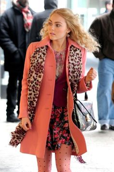 Love her fashion! This is me only people hate on it my fashion style is meant for a city or something bigger! :-P :-)