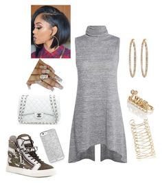 """""""11/21/15"""" by sheztrendy ❤ liked on Polyvore featuring Giuseppe Zanotti, Chanel, River Island and Forever New"""