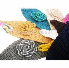 2014-New-Winter-Headband-Small-Pearl-Flower-Headbands-For-Women-Fashion-Handmade-Crochet-Headwrap-Women-Headwear.jpg (601×592)
