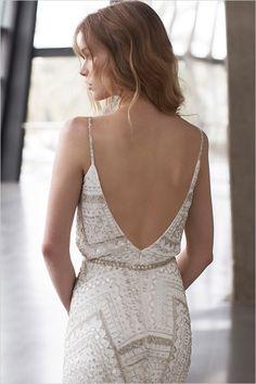 Boho low back wedding dress/ Limor Rosen 2015 Collection