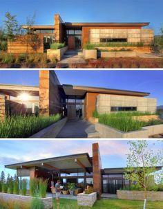 Prairie Style Architecture | Rustic Modern: Earth, Wood & Steel High-Desert Home | Designs & Ideas ...