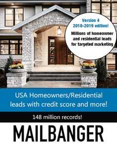USA Homeowners database with millions of residential records for targeted marketing Credit Score, Marketing And Advertising, Usa, U.s. States