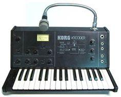 Korg- the original vocoder.