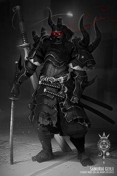 88 Ilustraciones de Samurais que tienes que Ver