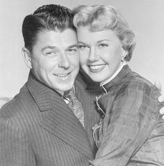 Doris Day & Ronald Reagan (in his film days)