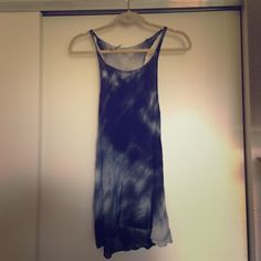 Brandy Melville tie dye tank Brand new never worn with tags Brandy Melville tie dye racer back tank Brandy Melville Tops Tank Tops