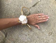 DeniMar / Náramok pre družičky Floral, Rings, Jewelry, Jewlery, Jewerly, Flowers, Ring, Schmuck, Jewelry Rings