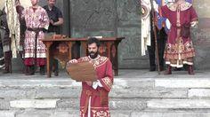 Palio di Legnano Traslazione2014 Consegna Palio alla contrada San Domenico - YouTube
