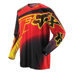 Men's Fox Racing Dirt Bike Jerseys Shop for Jerseys at Rocky Mountain ATV/MC. In addition to Jerseys, browse our full selection of Riding Gear. Fox Racing, Mtb Clothing, Motocross Gear, Country Style Outfits, Moto Cross, Cyberpunk Fashion, Riding Gear, Sport Fashion, Yellow