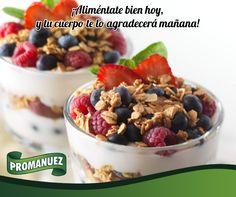 Una excelente opción para llevar una vida más sana para desayunar o cenar