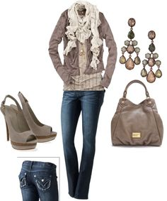 """mauve browns"" by peyton-au on Polyvore"