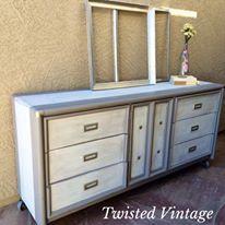 Custom refinished dresser by Twisted Vintage AZ