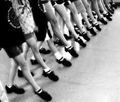 Some of our young Americans perfecting the jig after a fun filled week of dancing.