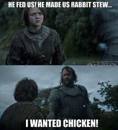 Sorry, I can't get enough of The Hound and his chicken love. lol