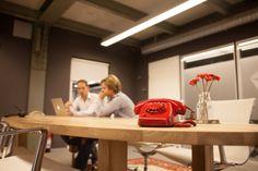 Usability onderzoek in de red room.